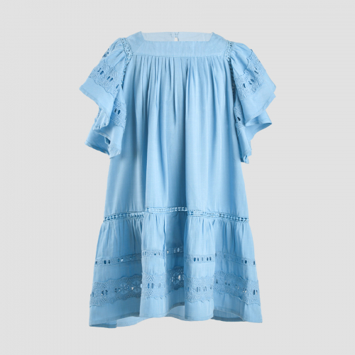 GALE DRESS (BABY) - BLUE